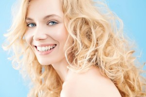 Blonde-Woman-Curls-Smile-Happy